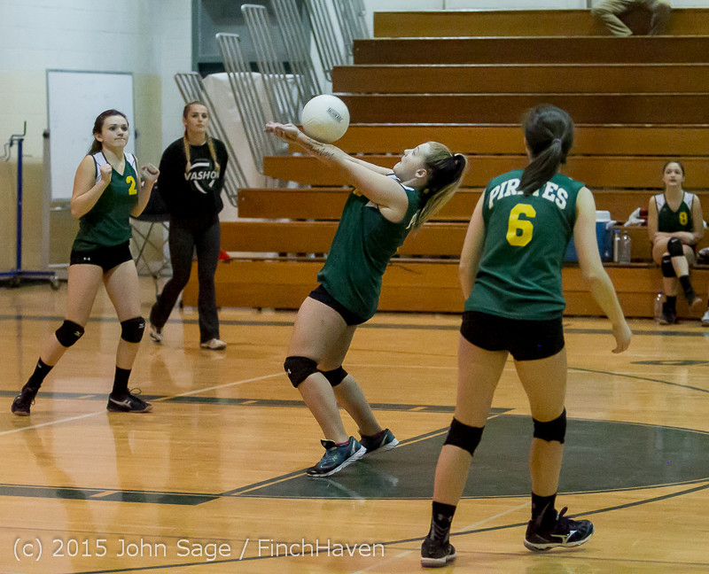 6052 JV Volleyball v Crosspoint 102315