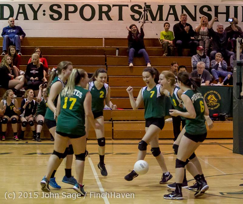 6077 JV Volleyball v Crosspoint 102315