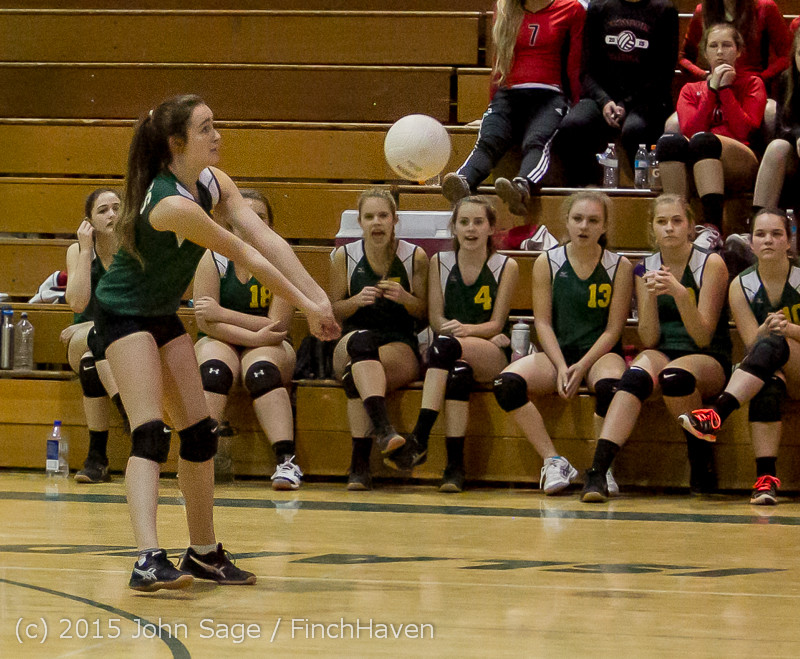 6101 JV Volleyball v Crosspoint 102315
