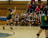 6103 JV Volleyball v Crosspoint 102315