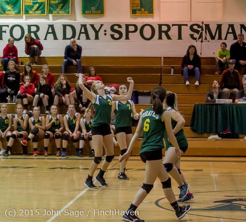 6110 JV Volleyball v Crosspoint 102315