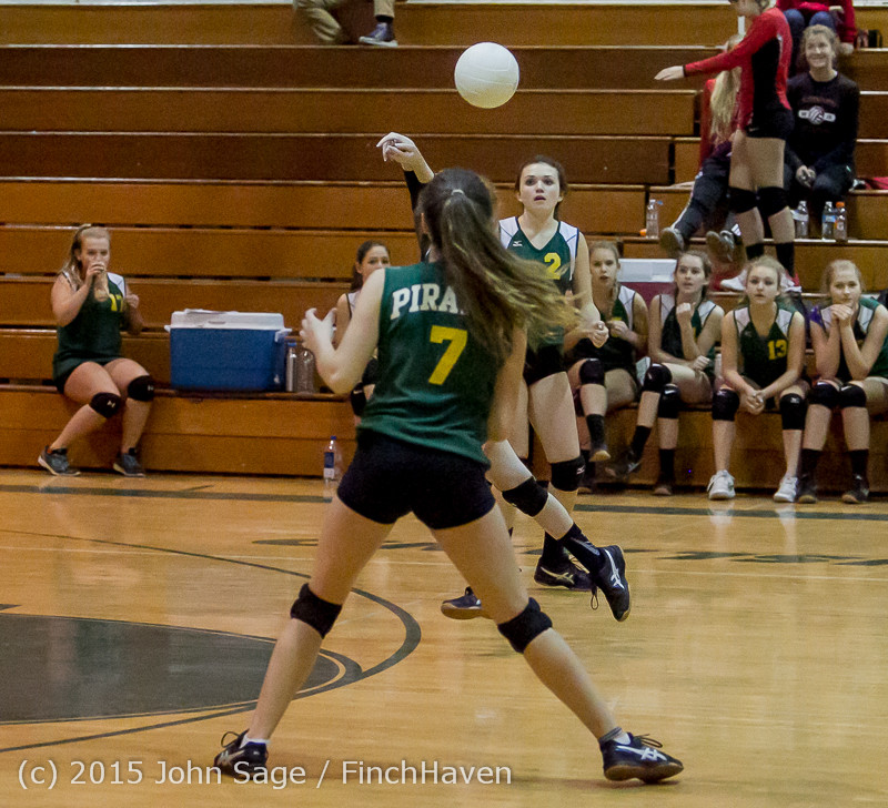 6121 JV Volleyball v Crosspoint 102315