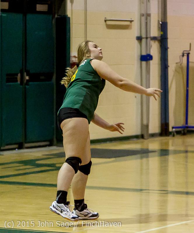 6148 JV Volleyball v Crosspoint 102315