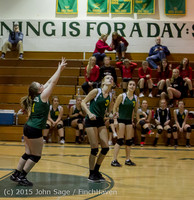 6226 JV Volleyball v Crosspoint 102315