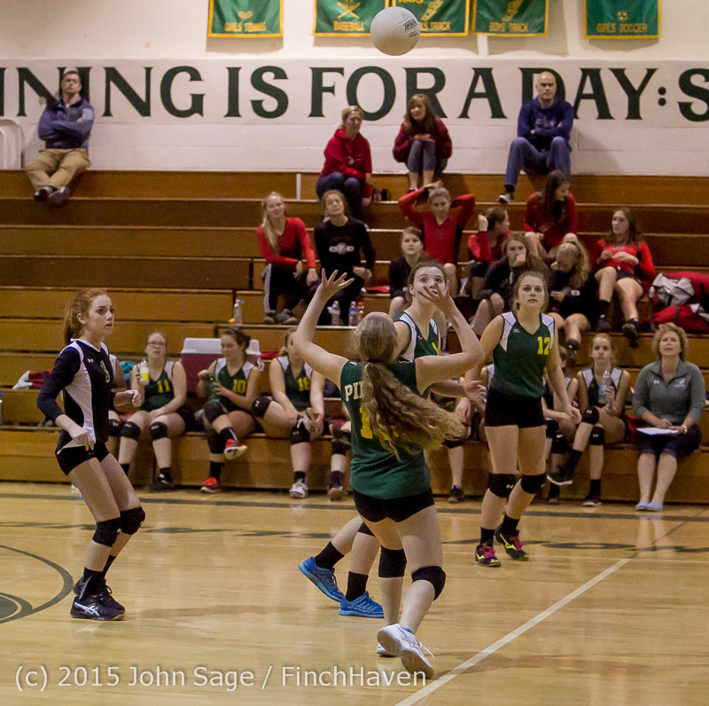 6273 JV Volleyball v Crosspoint 102315