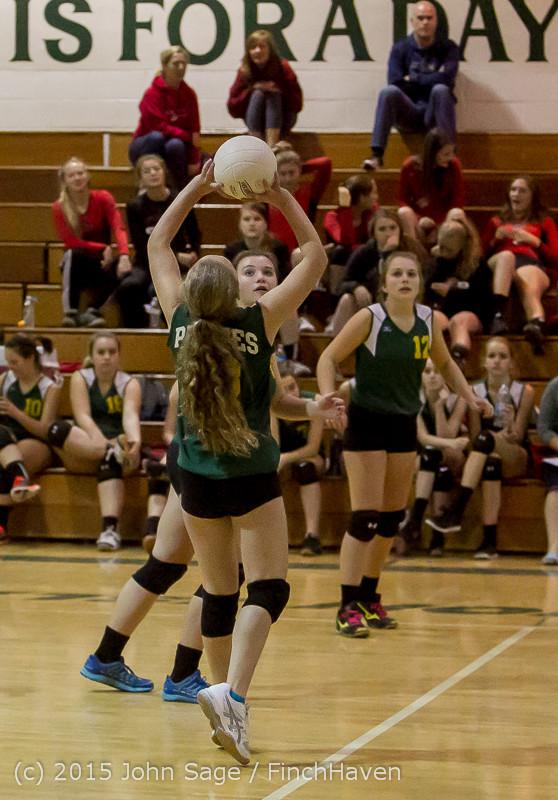 6274 JV Volleyball v Crosspoint 102315