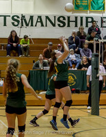 6304 JV Volleyball v Crosspoint 102315
