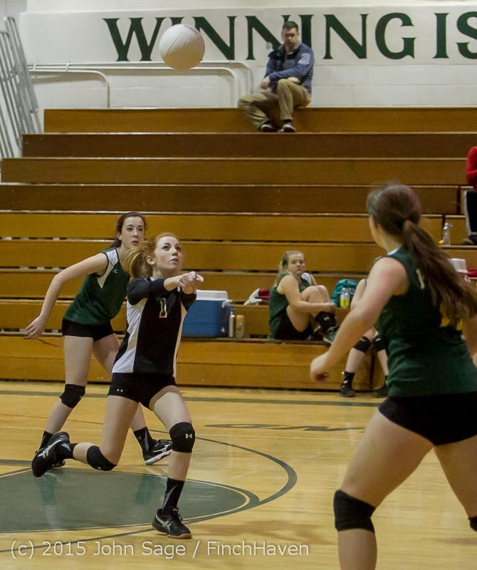 6319 JV Volleyball v Crosspoint 102315