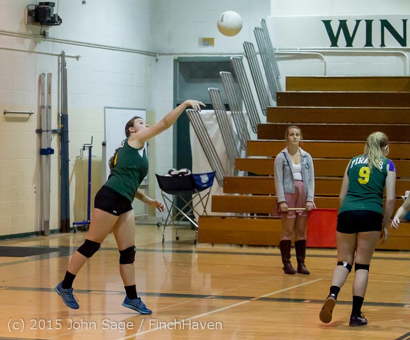 6356 JV Volleyball v Crosspoint 102315