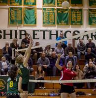 6381 JV Volleyball v Crosspoint 102315