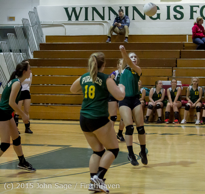 6396 JV Volleyball v Crosspoint 102315