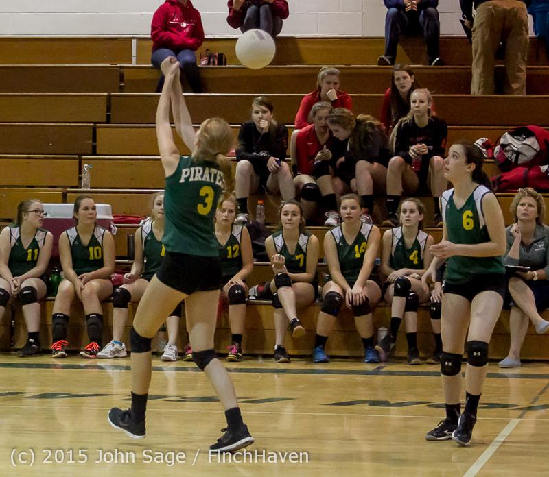 6412 JV Volleyball v Crosspoint 102315