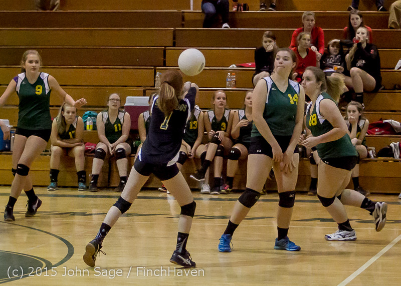 6464 JV Volleyball v Crosspoint 102315