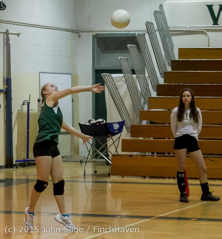 6484 JV Volleyball v Crosspoint 102315