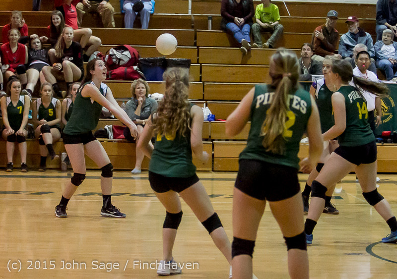 6502 JV Volleyball v Crosspoint 102315