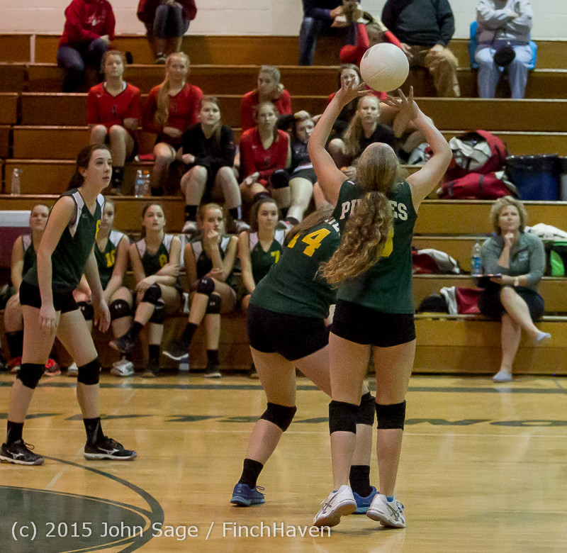 6508 JV Volleyball v Crosspoint 102315