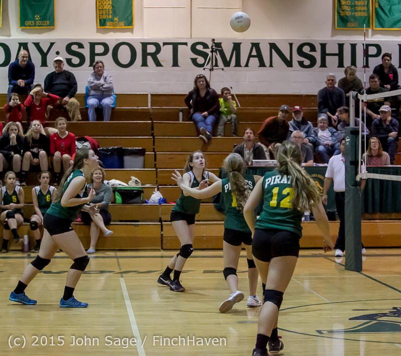 6553 JV Volleyball v Crosspoint 102315