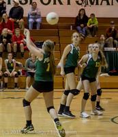 6644 JV Volleyball v Crosspoint 102315
