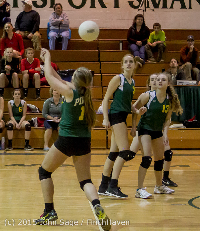 6644 JV Volleyball v Crosspoint 102315