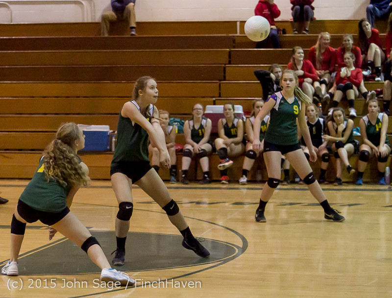 6649 JV Volleyball v Crosspoint 102315