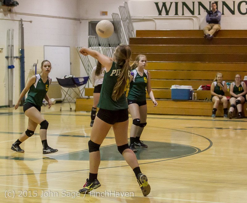 6673 JV Volleyball v Crosspoint 102315