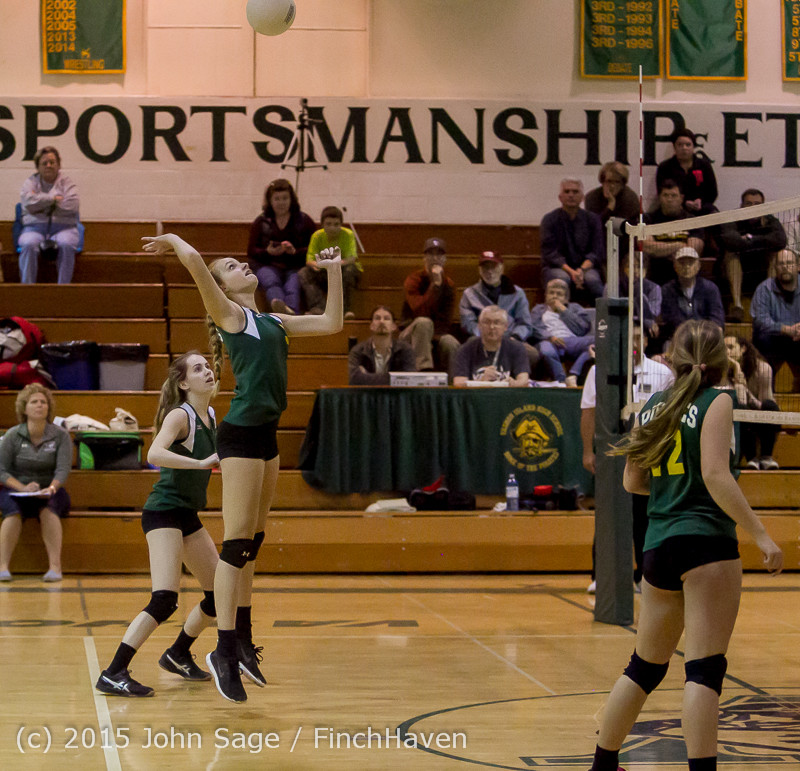 6693 JV Volleyball v Crosspoint 102315