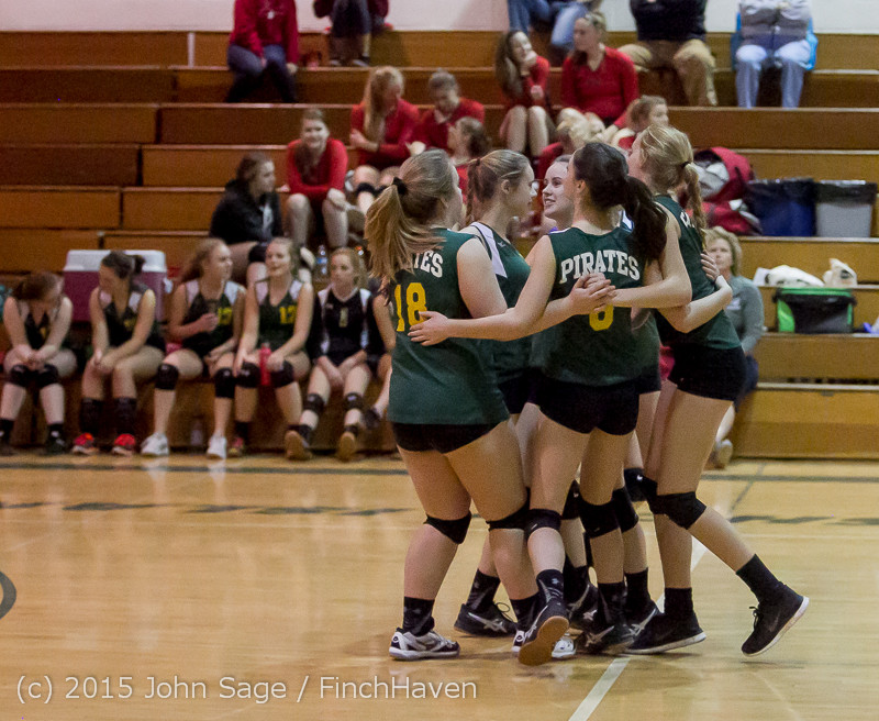 6742 JV Volleyball v Crosspoint 102315