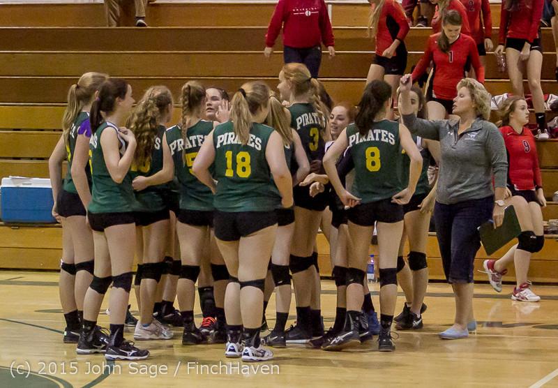 6797 JV Volleyball v Crosspoint 102315