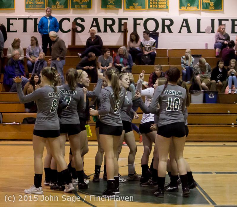 6870 Varsity Volleyball v Crosspoint 102315