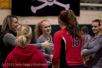 6877 Varsity Volleyball v Crosspoint 102315