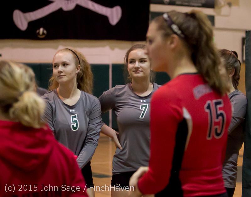 6882 Varsity Volleyball v Crosspoint 102315