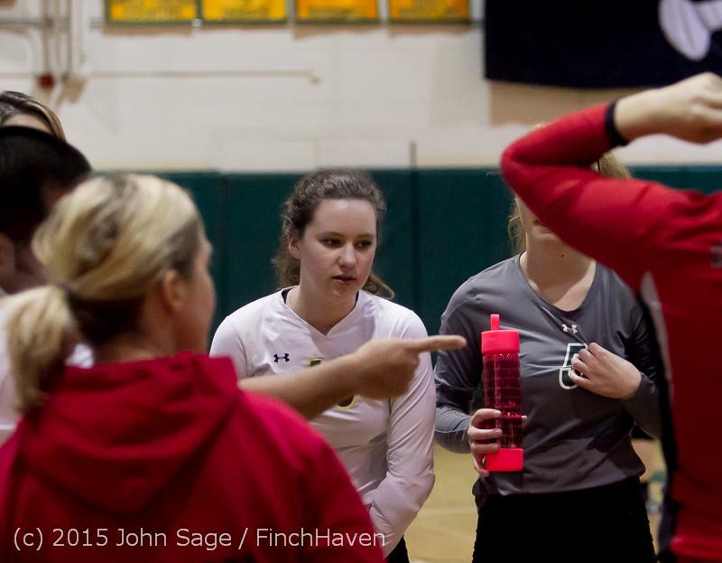 6884 Varsity Volleyball v Crosspoint 102315