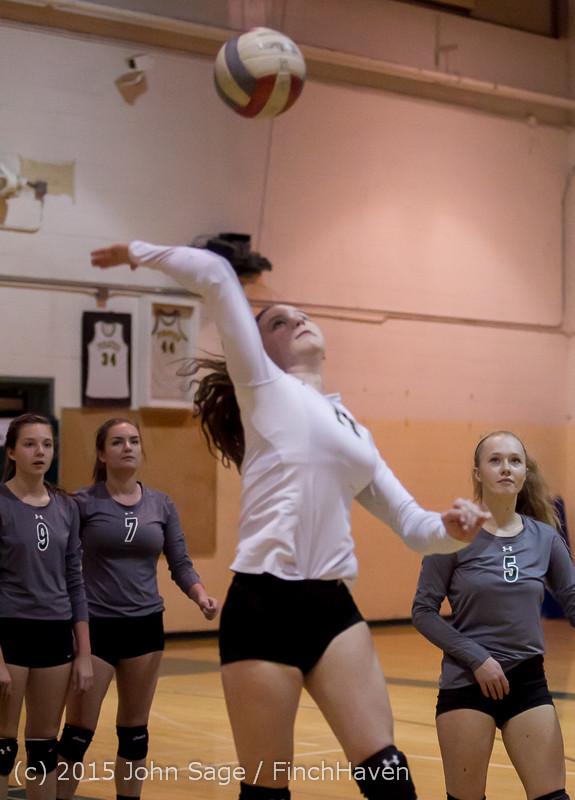 6918 Varsity Volleyball v Crosspoint 102315