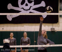 6938 Varsity Volleyball v Crosspoint 102315