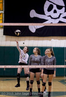 6941 Varsity Volleyball v Crosspoint 102315