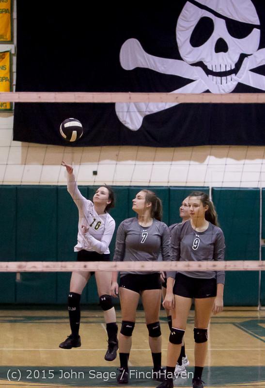 6941 Varsity Volleyball v Crosspoint 102315