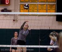 6945 Varsity Volleyball v Crosspoint 102315