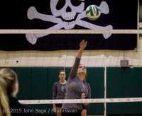 6968 Varsity Volleyball v Crosspoint 102315