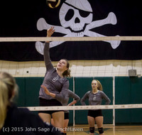 6981 Varsity Volleyball v Crosspoint 102315