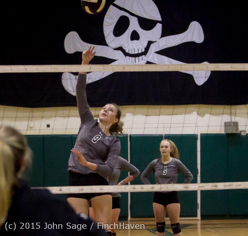 6981 Varsity Volleyball v Crosspoint 102315