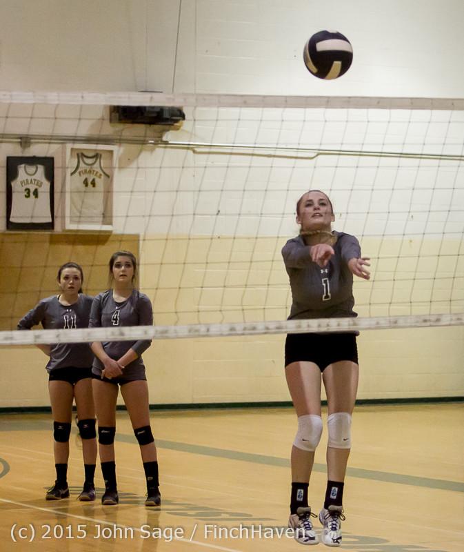 7017 Varsity Volleyball v Crosspoint 102315