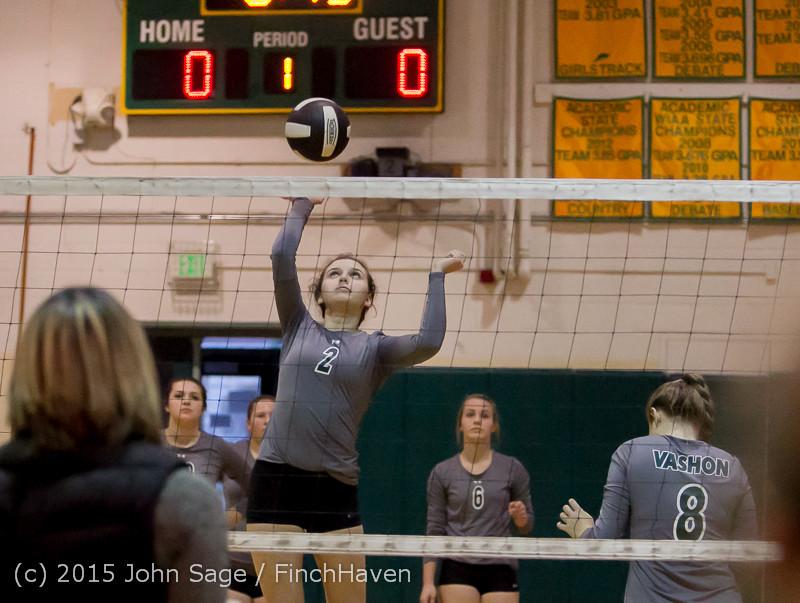7021 Varsity Volleyball v Crosspoint 102315