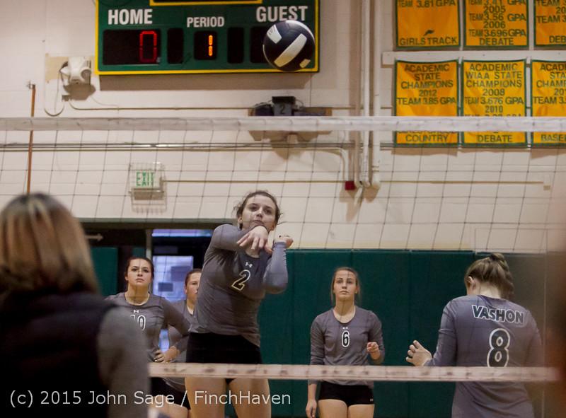 7022 Varsity Volleyball v Crosspoint 102315