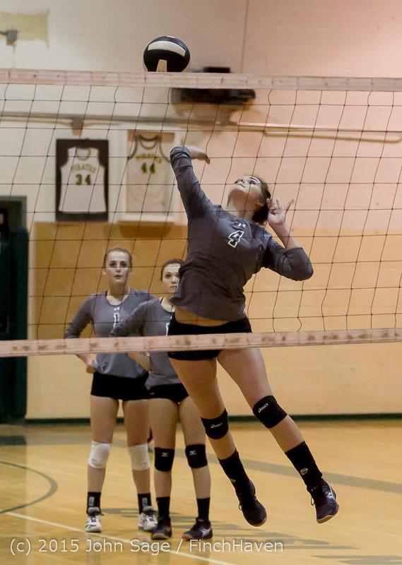 7027 Varsity Volleyball v Crosspoint 102315
