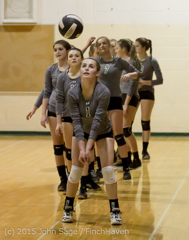 7033 Varsity Volleyball v Crosspoint 102315