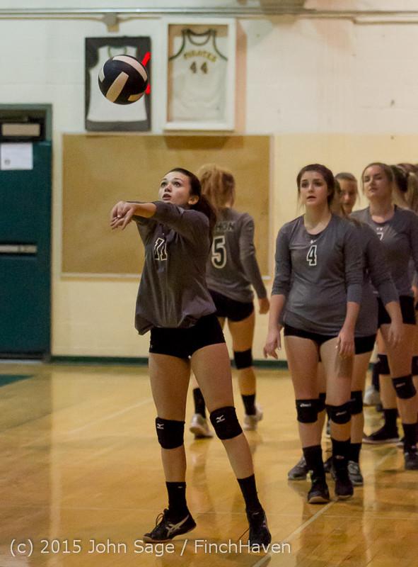 7037 Varsity Volleyball v Crosspoint 102315