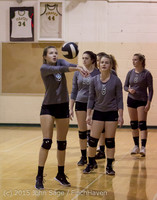 7057 Varsity Volleyball v Crosspoint 102315