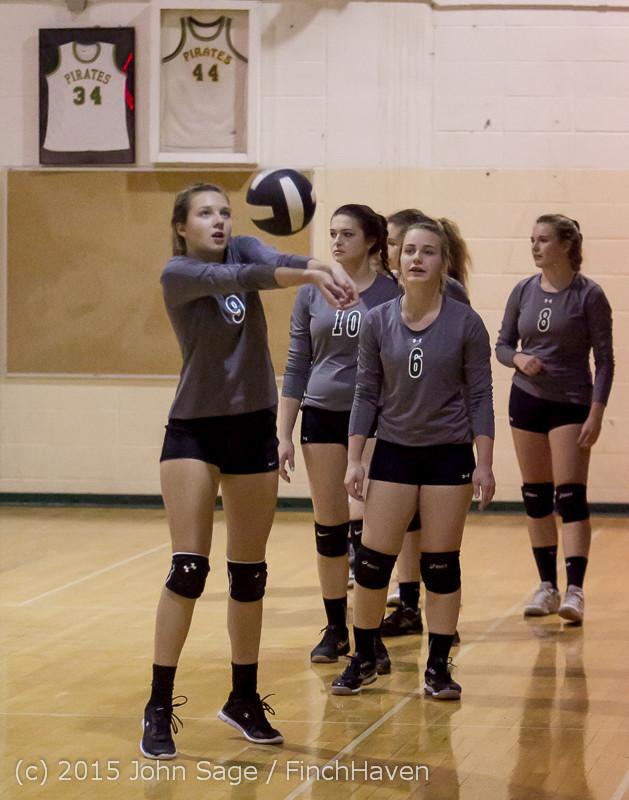 7057 Varsity Volleyball v Crosspoint 102315