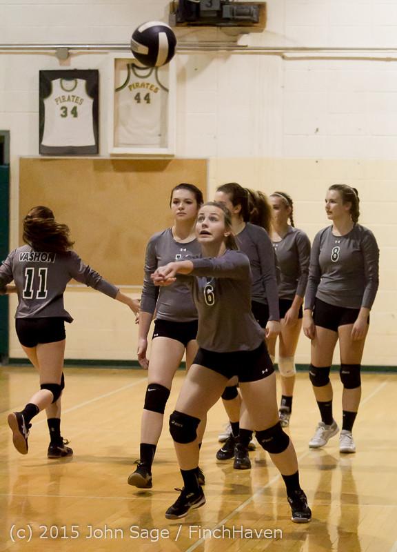 7063 Varsity Volleyball v Crosspoint 102315