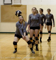 7094 Varsity Volleyball v Crosspoint 102315